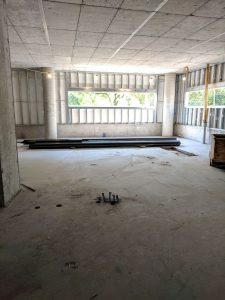 This is the inside of our new building!