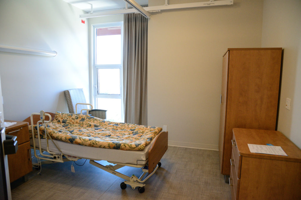 Single, Private Rooms