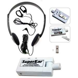 I want to support our seniors by donating to purchase a set of Super Ear Personal Amplifiers.
