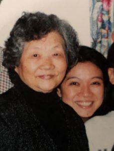 Francisca and Mom, Elena 20 years ago