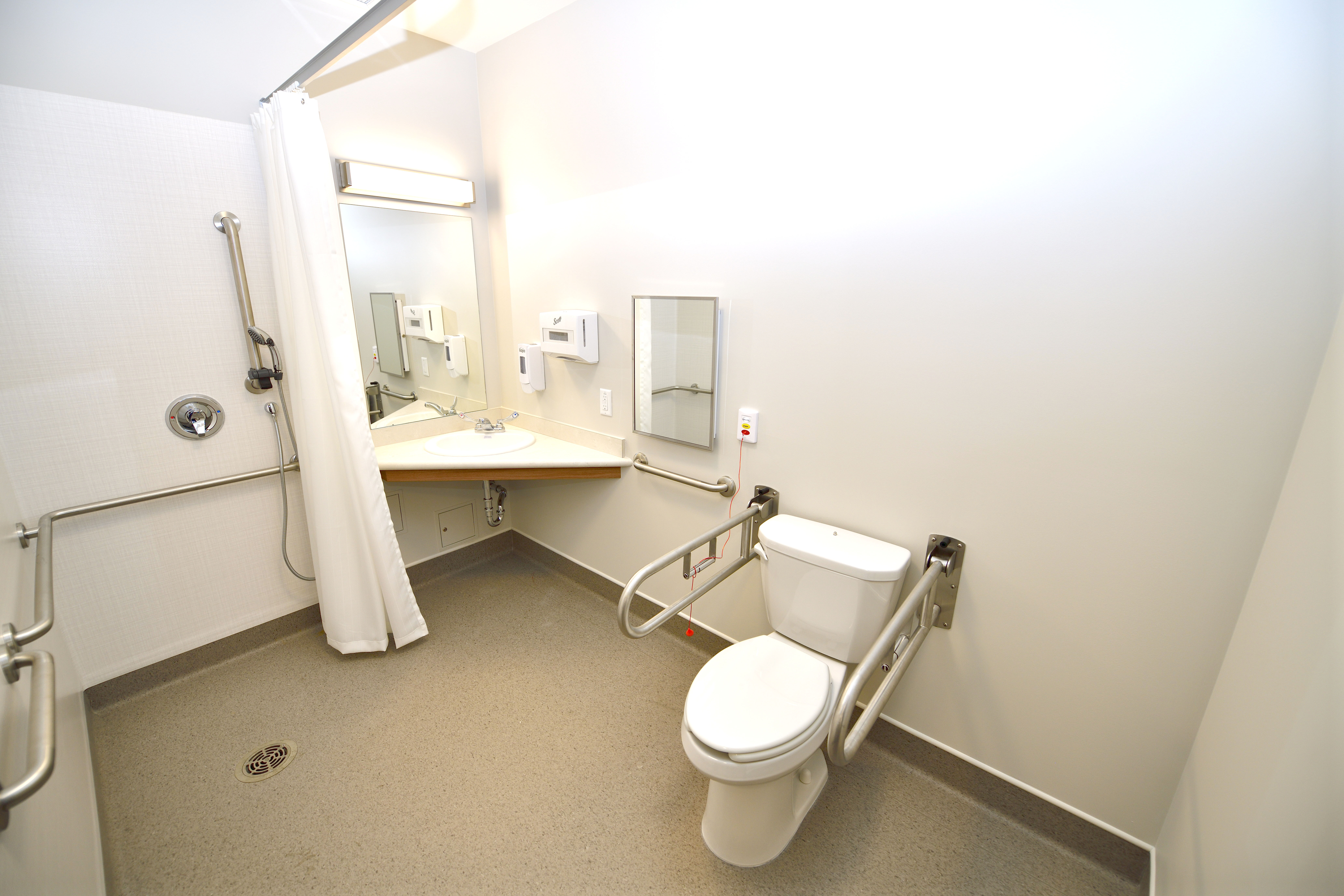 Senior-Home-Amenities: Ensuite Washroom